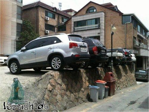 Parken am Limit