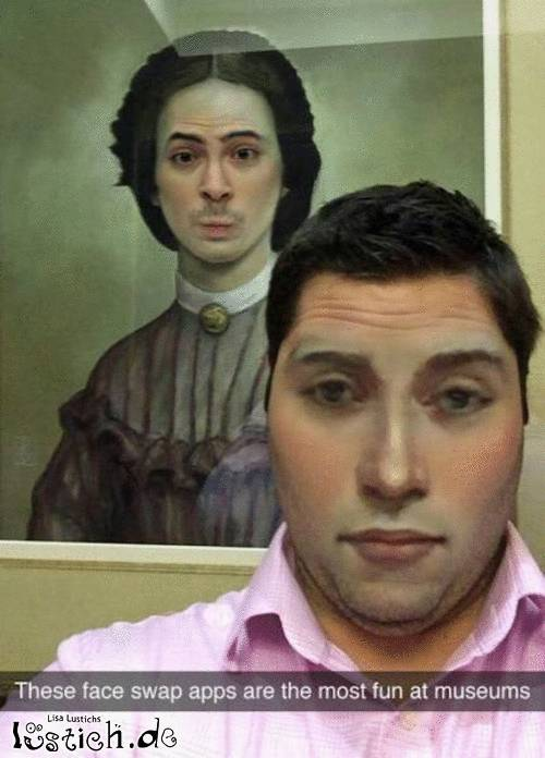 Faceswap im Museum