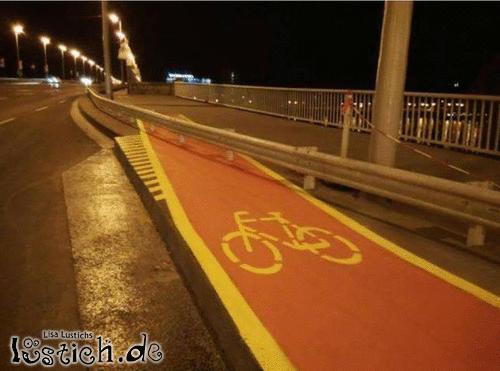 Fahrradfahrer-Phobie
