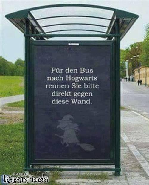 Mit dem Bus nach Hogwarts