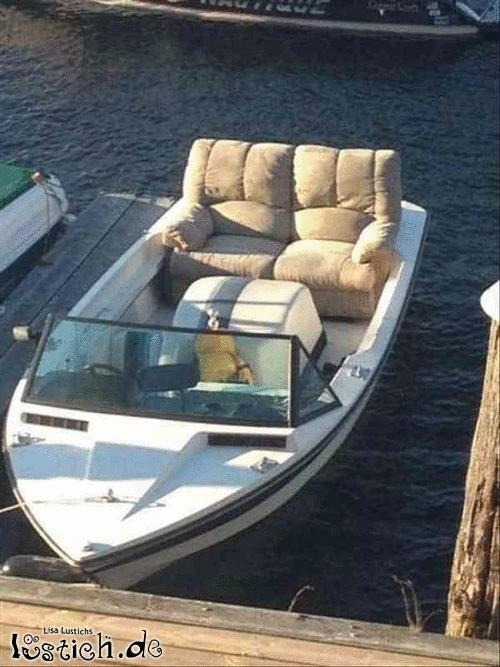 Luxusboot