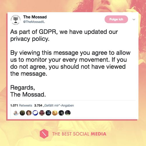 GDPR-Agreement
