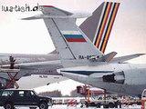 Aufgeschnittenes Flugzeug