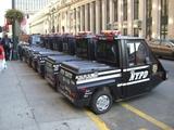 Peinliche Polizeiautos