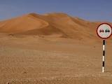 Überholverbot in der Wüste