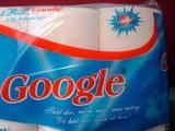 Google Toilettenpapier