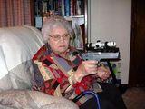 Wehrhafte Oma