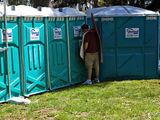 Außen-Toiletten