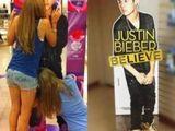 Justin Bieber Aufsteller