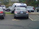 Aufgefahren und geparkt