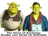 Bruder von Shrek bei The Voice of Germany