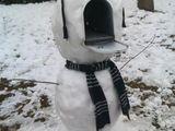 Gefräßiger Schneemann