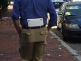 Männer tragen keine Taschen!