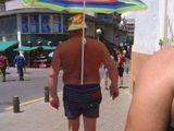 Großer Sonnenschutz