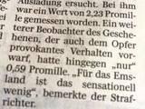 Wenig Promille