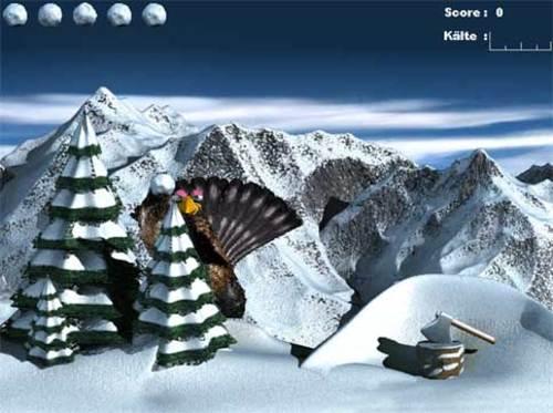 Schneeball-Schlacht