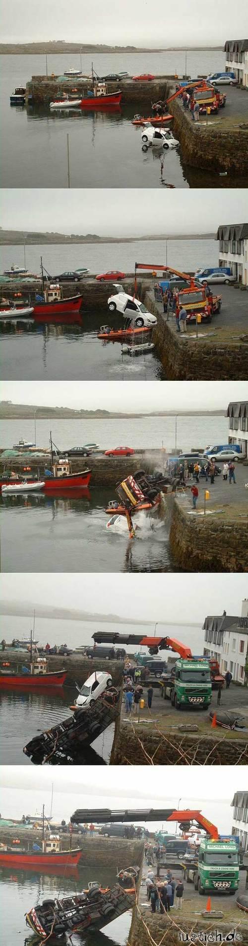 Unfall bei Rettung