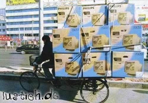 Fahrrad oder LKW?