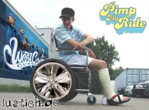 Pimp my Rollstuhl