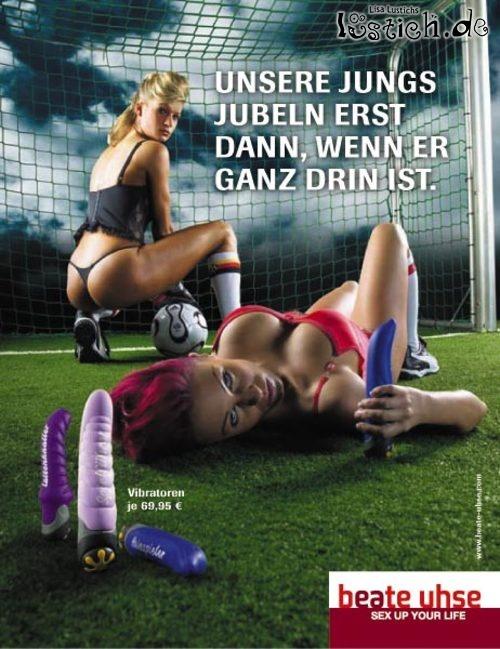 Vibrator und Fußball