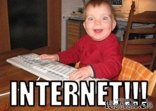 Juhu Internet!