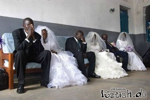 Panik vor der Hochzeit