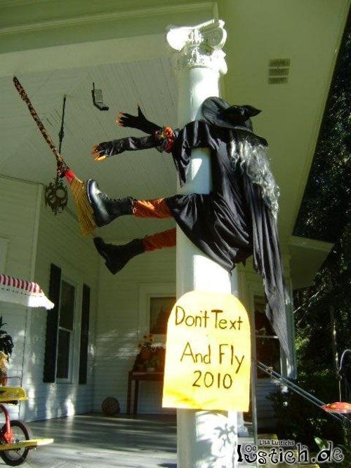 Halloween Unfall