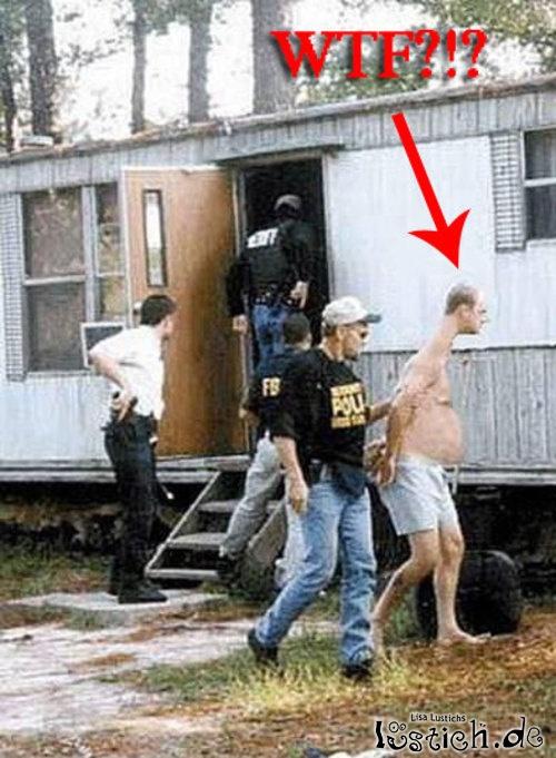 E.T. wird verhaftet