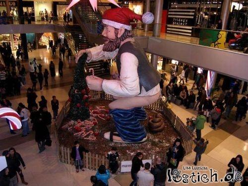 Weihnachtsmann, du altes Ferkel