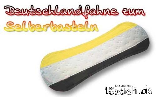 deutschland-flagge zum selber basteln