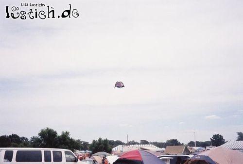 Ufo-Zelt