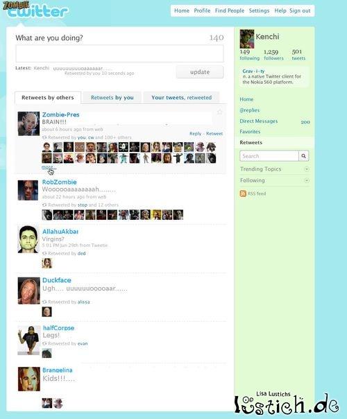 Zombie-Twitter