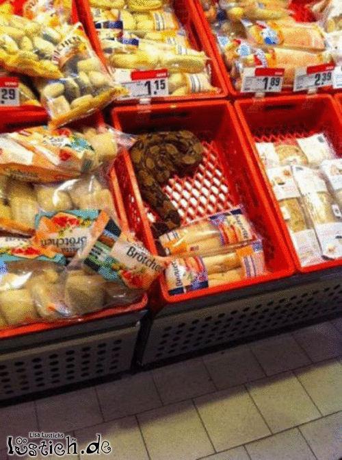Brot mit Zugabe