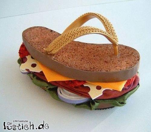 Sandwich-Schuh
