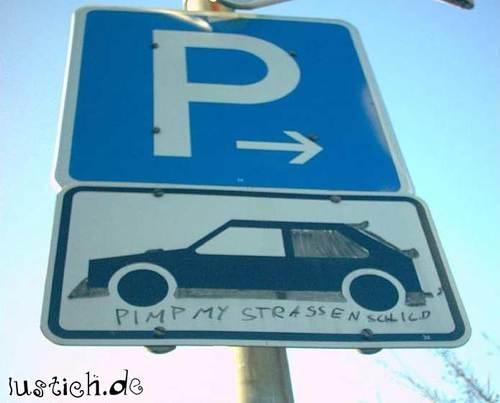 Pimp my Straßenschild