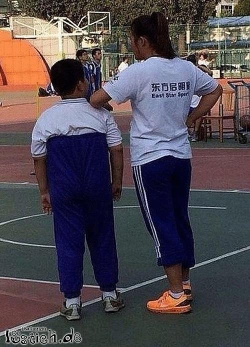 Shirt in die Hose stecken