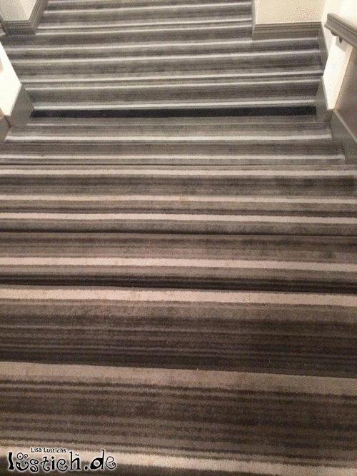 Teppich für die Treppen