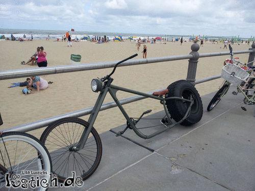 Kreatives Fahrrad