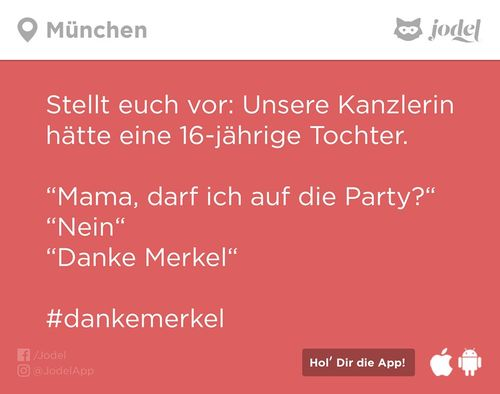 Danke Merkel