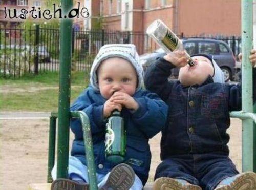 Saufende Kinder