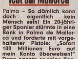 Dümmster Räuber