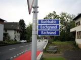 Viele Straßennamen