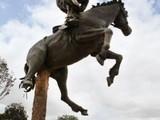 Pferde Statue