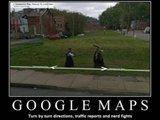 Google Maps Schwertkampf