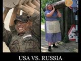 USA vs Russland