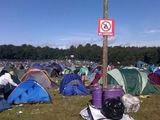 Campen verboten