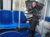 Der modische Müllsack
