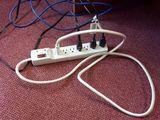 Runder Stromanschluss