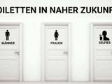 Toiletten der Zukunft