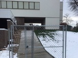 Das Tor ist verschlossen